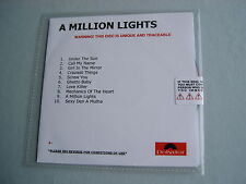 CHERYL COLE A Million Lights sealed promo CD album