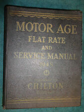 1939-1948 CHEVY FORD OLDS CADILLAC MERCURY DODGE & MORE SHOP AND PARTS MANUAL