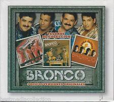 Bronco CD NEW Tesoros De Coleccion SET 3 CDs y 36 Canciones SEALED