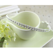 Fashion Lady Metal Crystal Rhinestone Head Jewelry Headband Headpiece Hair Band