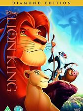THE LION KING PART 1 DVD Original WALT DISNEY DIAMOND EDITION New UK Version