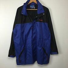 VTG 80s 90s Nissan Dealership Parka Jacket Mens SZ L Japanese Car Co Coat