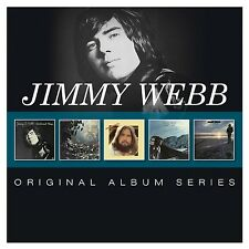 JIMMY WEBB - ORIGINAL ALBUM SERIES 5 CD NEU