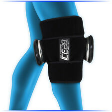 ICE20 Double Knee Ice Cold Compression Wrap Thigh Calf Shin
