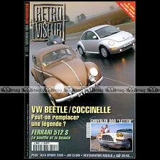RETROVISEUR N°123 CHRYSLER 300 VW COCCINELLE NEW BEETLE FERRARI 512 S DAF 55 66