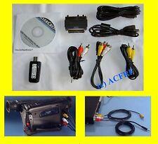 USB Digitalisierungs-Set für Audio und Video Dateien mit Cyberlink Software OVP
