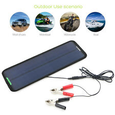 18V 7.5W Solar Trickle Panel Power Portable Battery Charger Car Boat