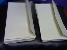 50-DL COLOURED ENVELOPES IVORY/CREAM PARCHMENT ENVELOPES-FOR ALL OCCASIONS