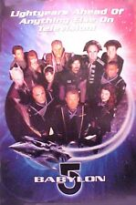 BABYLON 5 poster CAST and CREW