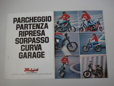 advertising Pubblicità 1982 MALAGUTI FIFTY/NEW DRIBBLING 50