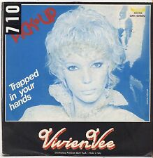 "VIVIEN VEE - Pick-up - VINYL 7"" 45 LP ITALY 1981 VG+ COVER VG- CONDITION"
