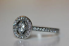 AUTHENTIC PANDORA VINTAGE ALLURE RING 191006CZ SZ 52 6 US S925 ALE W/ GIFT BOX