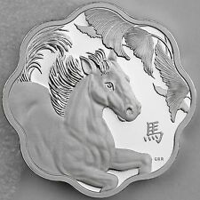 Canada 2014 $15 Year of the Horse 99.99% Pure Silver Lunar Lotus Proof Coin