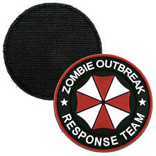 Resident Evil Morale Patch 3D Zombie Outbreak Response Team Umbrella Corporation