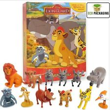 DISNEY JUNIOR THE LION Busy bambini Guard 12x figure book Playmat DECORAZIONI PER TORTA NUOVO