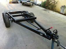 TRAY TOP CHASSIS TANDEM AXLE  SUIT 9X7 FT ALTERNATIVE TO BOX TRAILER