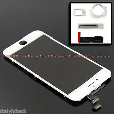 DISPLAY ORIGINAL IPHONE 6 A1549 A1586 BIANCO WHITE LCD TOUCH SCREEN + RICAMBI