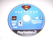 PS2, Superman Returns Video Game, Used, No Case!