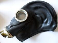 RUBBER GAS MASK GP-5 Russian Black  Military only, size 0