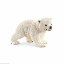 Schleich Arctic Wild Life - Polar Bear Cub Walking 14708 - New with Tag