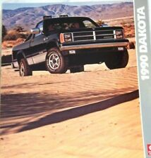 1990 90 Dodge Dakota original sales  brochure