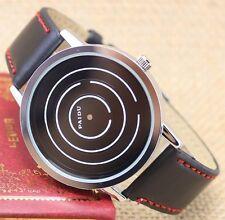 NEW Fashion Men Women Quartz Wrist watch Unique Turntable Dial Gifts Q0806