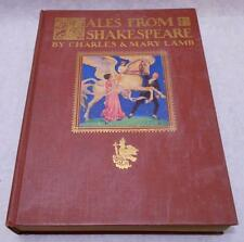 Tales from Shakespeare Charles Mary Lamb Elizabeth Shippen Green Elliott 1922 HC