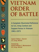 Vietnam Order of Battle: A Complete Illustrated Reference to U.S. Army Combat a