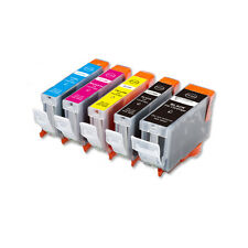 5 Replacement Printer Ink Set for Canon PGI-5BK CLI-8 MP610 MP800 MP810 MX850
