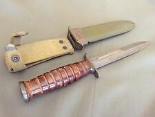 Very Rare WWII 2 USM3 US M3 BOKER Trench Fighting Knife M8 Scabbard