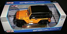 2014 JEEP WRANGLER 1:18 Die Cast Special Edition by Maisto Brand New Sealed