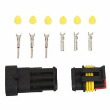 5 Kit 3 Pin Way Waterproof Electrical Wire Connector Plug LW SZUS