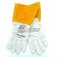 """Tillman 1328 Top Grain Goatskin TIG Welding Gloves 4"""" Cuff, Small"""