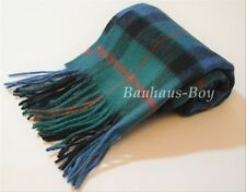 CLAN NECK SCARF SCOTTISH GUNN ANCIENT TARTAN 100% PURE NEW WOOL FOR KILTS