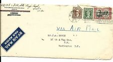 Early Canada Stamp Air Mail Cover- Montreal to Washington, DC- 1939