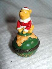 Disney Winnie The Pooh Trinket Box Midwest Of Cannon Falls Porcelain Hunny Pot