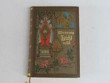 ANTIQUE GERMAN RELIGIOUS PSALM PRAYER BOOK -1912/1913-PERFECT