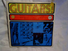 1960's GUITARS! LP SEALED,The History Of In Sound And Song,golden 254,steel,bass