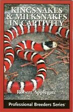 Kingsnakes and Milksnakes in Captivity NEW Pet Care Book