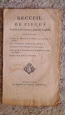 Recueil de pièces extraites de l'Ambigu, journal anglais