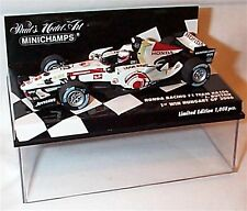 NEW 1/43 Minichamps 400060412 Honda RA106, winner Hungary GP 2006, Button, dirty