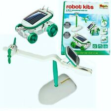 Robot Kits Build Your Own Solar Kit Educational Game Science Set DIY Panel Model