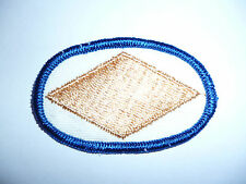 US ARMY BASIC PARACHUTE WINGS COTH BACKING OVAL.3