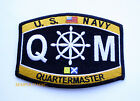 US NAVY QUARTERMASTER QM RATING HAT PATCH USN PIN UP USS ENLISTED CHIEF GIFT WOW