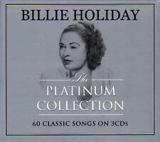 BILLIE HOLIDAY -  THE PLATINUM COLLECTION - 60 CLASSIC SONGS (NEW SEALED 3CD)