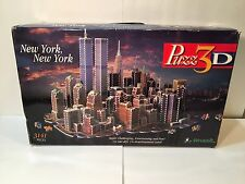 Puzz 3D New York New York Dimensional Puzzle 3141 Pieces Twin Towers Wrebbit