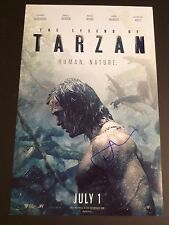 "ALEXANDER SKARSGARD Authentic Hand-Signed ""The Legend of Tarzan"" 11x17 Photo B"