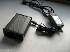 Used TELCO SYSTEMS METROBILITY MEDIA CONVERTER 2141-13 w/power supply & cord