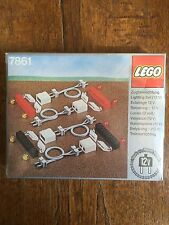 Lego 7861 Lighting Set 12 V New With Box Misb Train Vintage