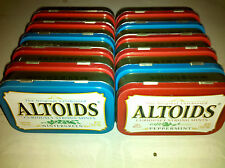 Lot of 12 Assorted EMPTY Altoids Tin